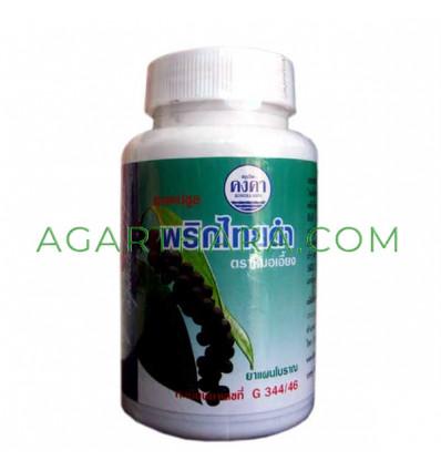 Slimming capsules Prik Thai Dum, 100 pcs