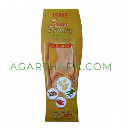 Anti cellulite hot cream Herbal Cream Firming Shape, 120 g