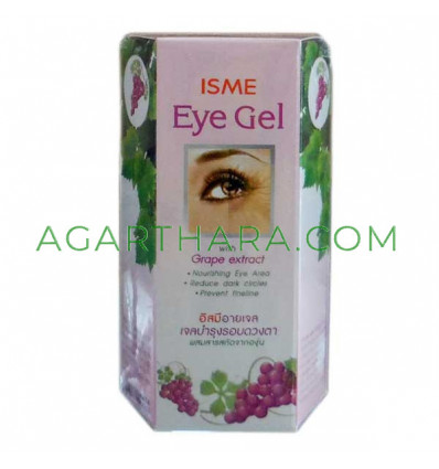 Isme Eye Gel Nourishing Whitening with Grape Extract, 10 g