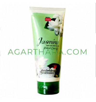 Banna Cream for hands and nails Leelawadee, rose, jasmine, orchid, 200 ml