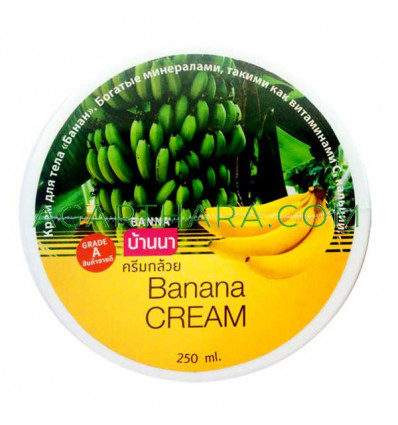Banna Body Cream Banana, 250 ml