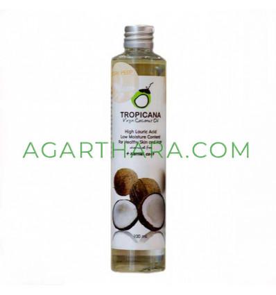 Coconut oil is 100% cold pressed Tropicana, 100 ml
