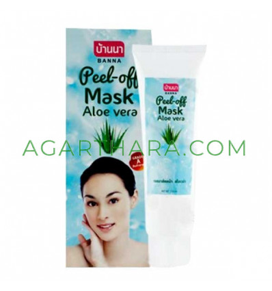 Banna Facial Peel-Off Mask, 120 ml