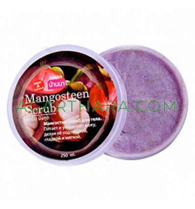 Body scrub 250 ml, Mangosteen