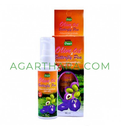 Banna Restoring whey hair with olive oil and butterfly pea, 60 ml