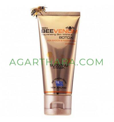 Mistine Bee Venom Sleeping Mask Without Botox Smooth Radiant Skin Anti-Wrinkle, 40 g