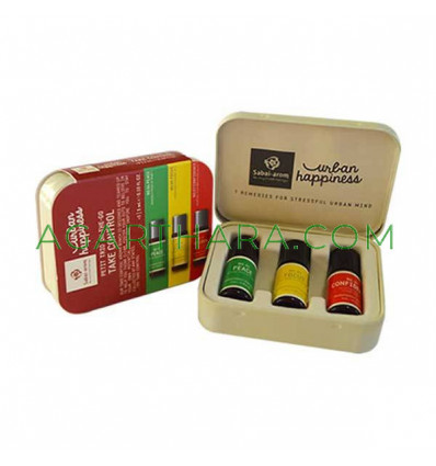 Sabai-arom Urban Happiness Take Control Healing Oils, 3 pcs x 3 ml