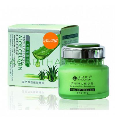 Belov Moisturizing Face Cream SHIJILIREN Aloe Gelatin, 50 ml