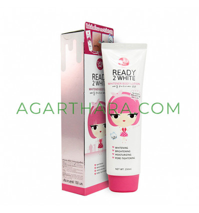 Cathy Doll Ready 2 White Whitener Body Lotion, 150 ml