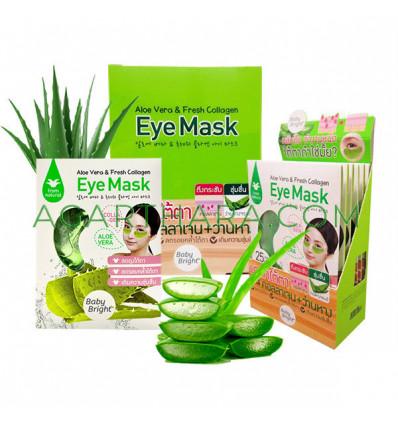 Baby Bright Aloe Vera & Fresh Collagen Eye Mask, 6 Pairs