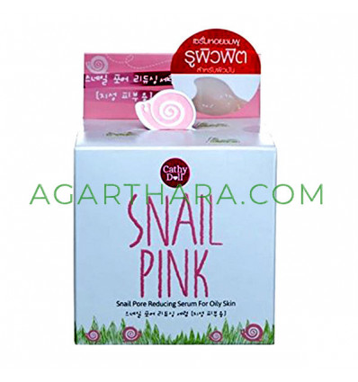 Cathy Doll Snail Pink Snail Pore Reducing Serum for Oily Skin 50 g